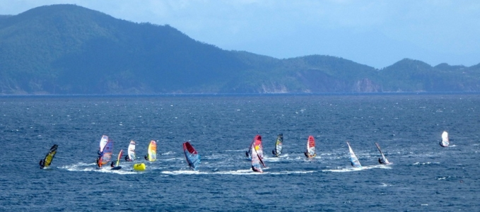 Championnat de Guadeloupe Windsurf Slalom 2018