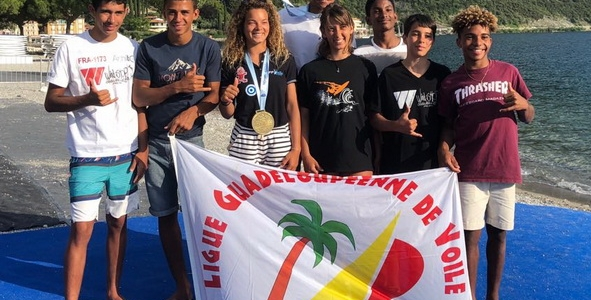 Le Pôle Espoirs au Mondial jeune de Windsurf en Italie et à la Coupe de France 2018